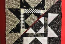 Quilt Blocks---- Black & White Sampler