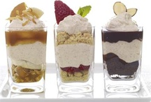 Bite Me!  One-Bite Mini-Desserts / Dessert Shooters and Other Little Desserts that make a big impression!  Perfect for buffet parties where everyone wants 'just a taste' of several different desserts.  Also great after Thanksgiving and other big Holiday meals. / by Monica Fisher