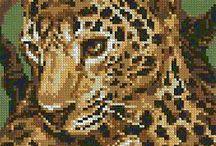 Cross Stitch - Leopards