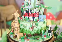 Jungle Safari Cakes