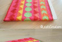 Ideas Tapestry / Tecnica tapestry en crochet para fundas, almohadones y mas.