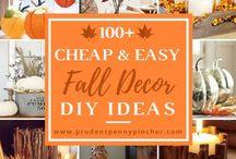 Herbst Deko und DIY Ideen