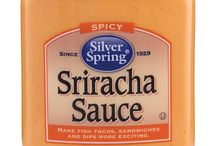 Sriracha Sauce / Our spicy Sriracha Sauce is made with sun-ripened chilies, garlic and smoothed into pure, creamy goodness that will wake up any dish.  #SilverSpringFoods #SrirachaSauce @SilvSprngFoods #GIVEITZING™ / by Silver Spring Foods, Inc.