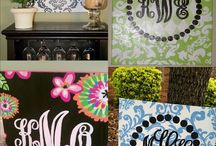 Crazy about monograms / by Terri O'Barr