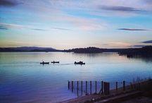Beautiful Loch Lomond / The sights and scenery around Loch Lomond Scotland.