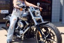 Breakout Bling / My Harley Davidson Breakout! 2014 CHROME METAL FLAKE! And Swarovski Crystals! Bling Bling!