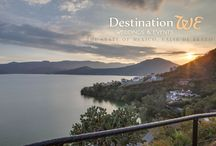 DestinationWE- Valle de Bravo / Set among the mountains on the Avandaro Lake, Valle de Bravo provides an amazing backdrop for meetings, weddings or romantic getaways.  Gorgeous images captured by D. Gabriel Studios.