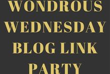 Wondrous Wednesday Link Party GROUP BOARD! / The official group board for the Wondrous Wednesday Link Party! Link up your posts on YoungMrs.com and you can also pin them on the board! No limit! To join the board leave a comment on the linky post with your Pinterest email address! The linky runs from Wednesday to Saturday! The board is all throughout the week!