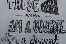 Geordie illustration & doodles