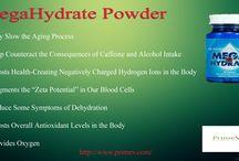 Mega hydrate powder