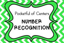 Number Recognition in Kindergarten / Classroom activities for number recognition