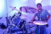 Drummer... / Baterista amateur. / by Héctor Zavala