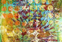 Gelli art / by Rhonda Jessop-Kearney