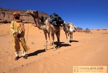 Tuareg Desert footprints