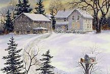 Bilder Landschaft im Winter