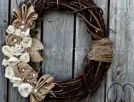 Wreaths / Door hangers