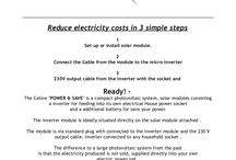 Power & Save Photovoltaic by Celine Power Spain