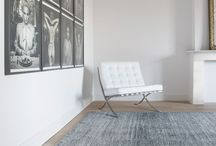 Rugs on locations 2016 / rugs carpets delivered on location photographs photography of interior design using THIBAULT VAN RENNE carpets and rugs.
