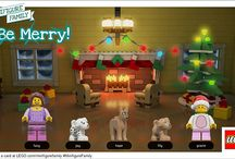 LEGO®: Minifigure Holiday Cards / by Clever Girls