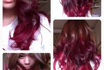 Hairstyles Colors / Capelli Colorati / You may not like the hairs with many colors uncommon, but you can't deny its beauty.