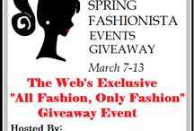 Spring Fashionista '13 Giveaway Event (with Monroe and Main) / The Spring  Fashionista GIveaway Event with Monroe and Main (pinterest Board) takes place March 7-13.  Be sure to Stop in and enter all 108 blogs+ and for $25,000+ in prizes.
