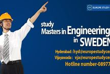 Study In Sweden / Study your favorite course (engineering/MBBS/MBA) in Sweden with very less tuition fee.