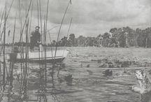 Vintage - Old fishing... / La pêche, l'histoire