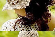 crochet: hats, scarves, shawls, mittens