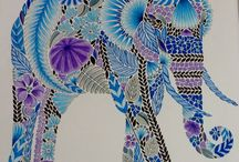 Tropcial Wonderland By Millie Marotta Colouring Book
