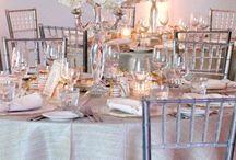 Reception Decor / Inspiration for reception decor