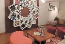Book shelves / Books
