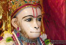 ISKCON Bhaktivedanta Manor - Hanuman Close up / Amazing wallpapers of Sri Hanuman Close up at ISKCON Banglore  maid by ISKCON Desire Tree