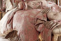 Beautiful Bedding / Gorgeous bedding makes the room.