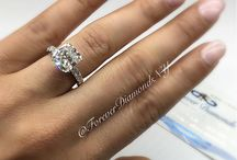 Be My Cushion / Cushion Cut Engagement Rings by Forever Diamonds NY