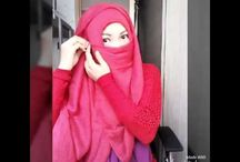 Tutorial hijab niqab ( cadar )