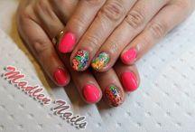 Paznokcie, Nails / #nails #nail #nailart #nailsart #paznokciehybrydowe #paznokcie #pazurki #naildesign #naildesigners