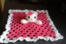 Crochet  and knitted blankies