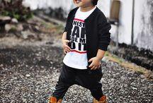 Infant boy street style
