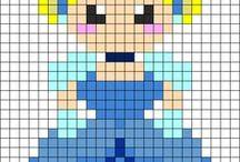 Lou pixel / Les pixels