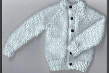 Barbie knitting