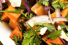 Sweet, Sweet Summertime! / Refreshing sweet potato recipes for the summer, like salads, pastas and ice cream!