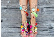 Boho Boheme Sandals By Little Stone Jewels