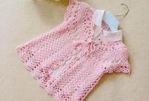 bolerito de niña a crochet
