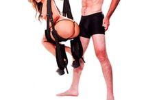 Balançoire pour l'Amour / Balançoire pour faire l'amour dans toutes les positions acrobatiques du Kamasutra en défiant la pesanteur