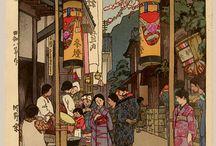Ukiyo-e v. Shin-Hanga