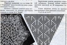 クンストレース編み図