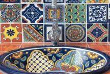 mexican talavera inspired decor / by Kimmy Alvarez