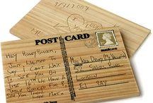 Valentine's Day Handmade Postcards