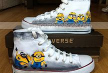 Painted shoes / by Rebekah Gomez