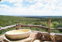 Schaumbad mit Aussicht / Die schönsten Badewannen auf Safari.